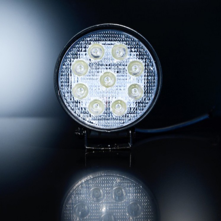 Online led light bars brisbane caravan storage 27w cree led spot light mozeypictures Choice Image