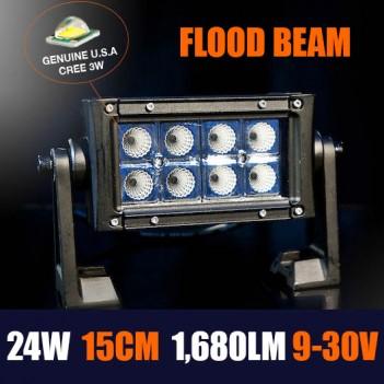 Online led light bars brisbane caravan storage 24w led light bar mozeypictures Choice Image
